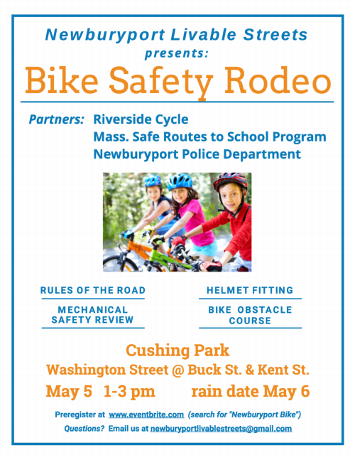 18.05.05 Bike Safety Rodeo poster 500w